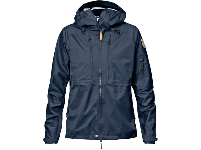 Fjällräven Keb Eco-Shell Jacket Women dark navy